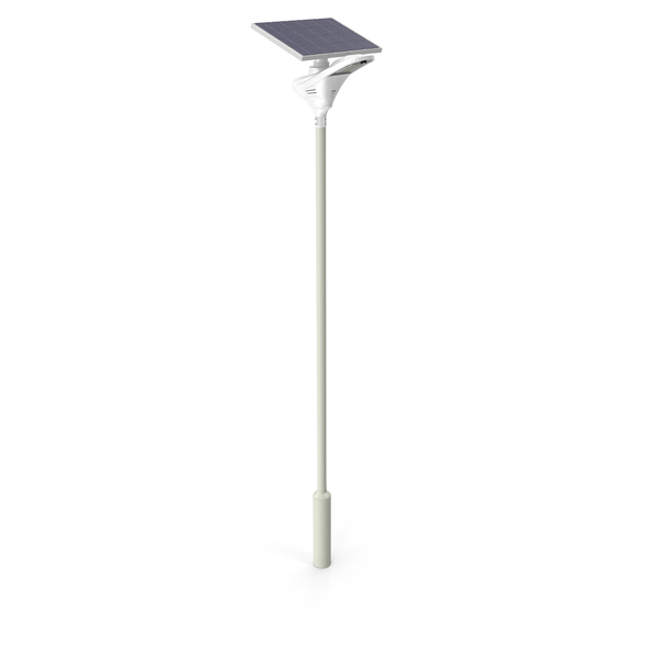LED Solar Street Light Post PNG & PSD Images