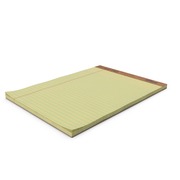 Legal Pad Writing Pad PNG & PSD Images