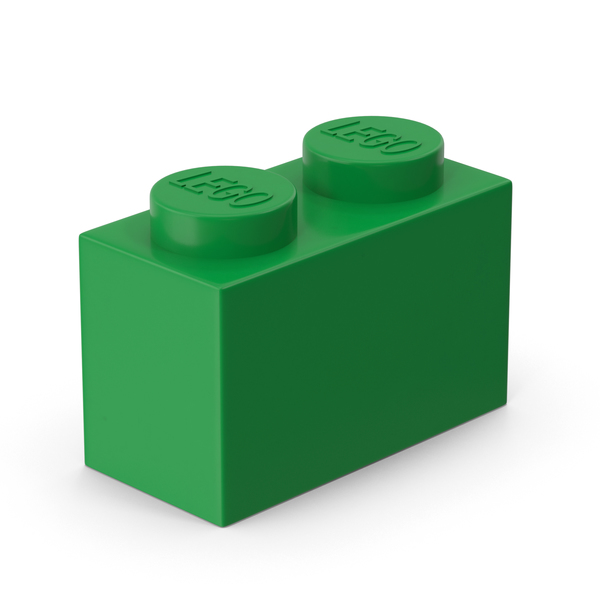 Lego 1x2 Brick PNG & PSD Images
