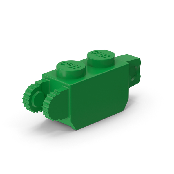 Lego 1x2 Vertical Hinge Brick PNG & PSD Images