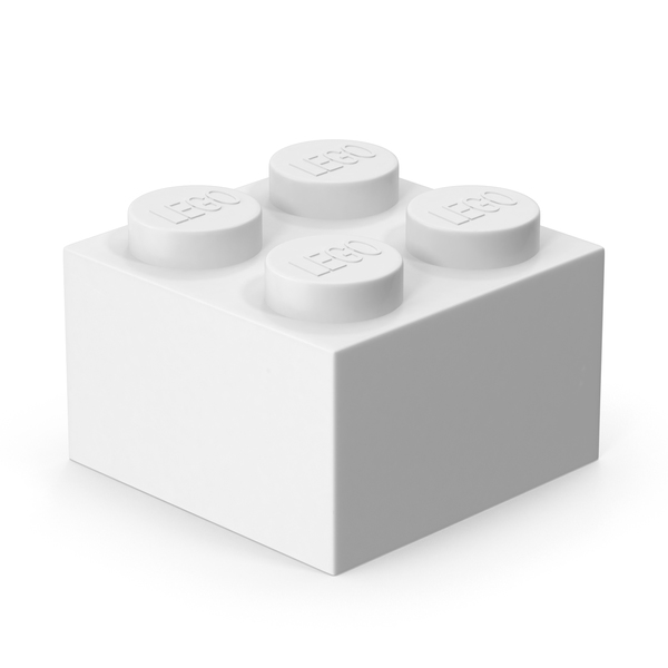 Lego 2x2 Brick PNG & PSD Images