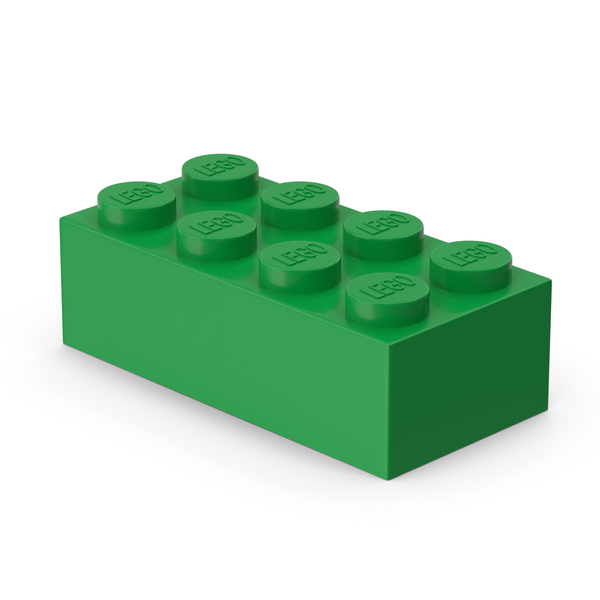 Lego 2x4 Brick PNG & PSD Images