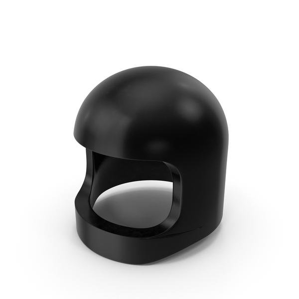 Lego Astronaut Helmet Black PNG & PSD Images