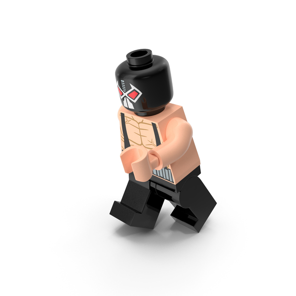 Toys: Lego Bane Running PNG & PSD Images