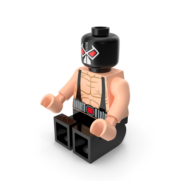 Toys: Lego Bane Sitting PNG & PSD Images