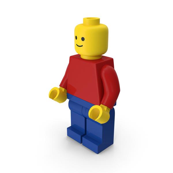 Lego Basic Man PNG & PSD Images