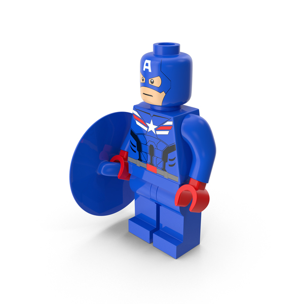 Lego Captain America PNG & PSD Images