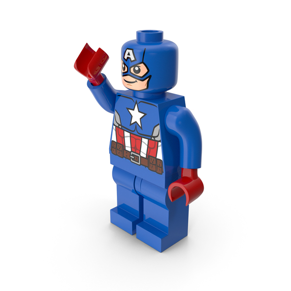 People: Lego Captain America Pose PNG & PSD Images