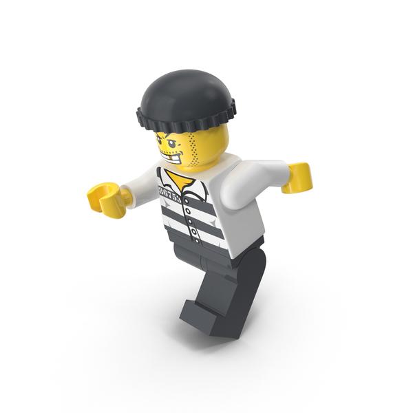 Lego Criminal Running PNG & PSD Images