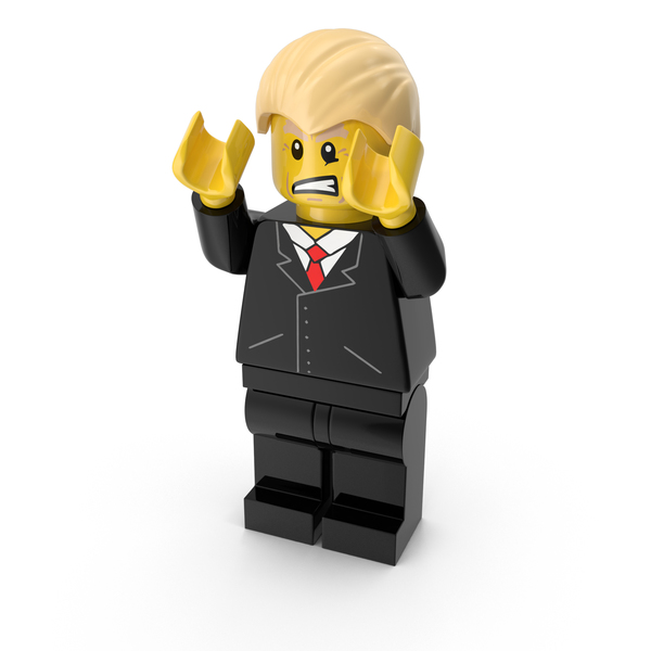 People: Lego Donald Trump PNG & PSD Images