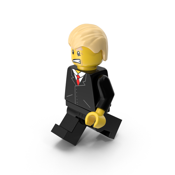 Lego Donald Trump Walking PNG & PSD Images