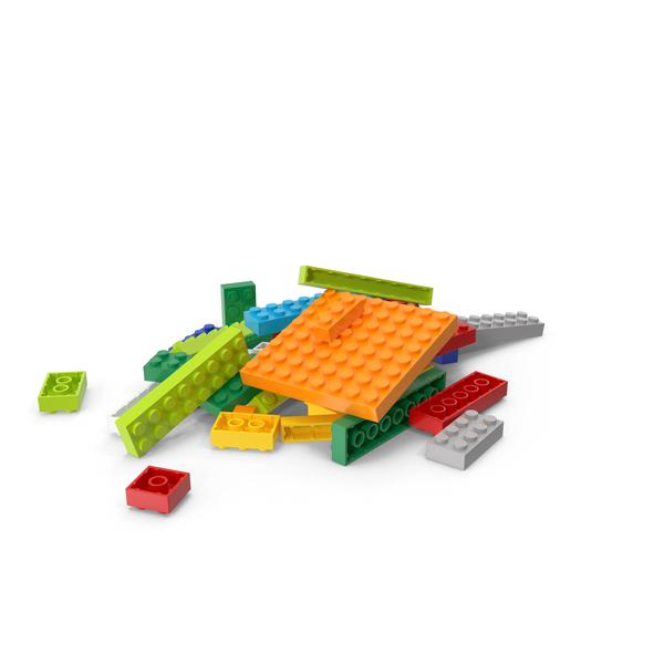 Brick: Lego Heap PNG & PSD Images