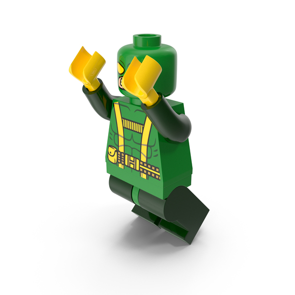 Toys: Lego Hydrasoldier Jumping PNG & PSD Images