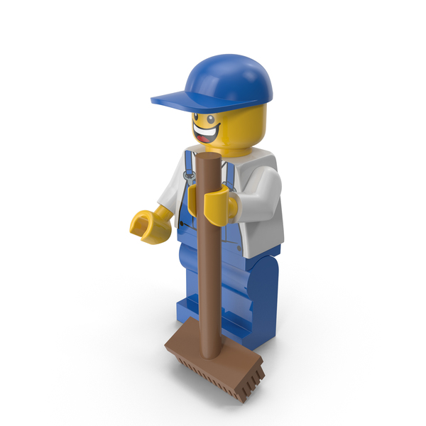 People: Lego  Janitor PNG & PSD Images