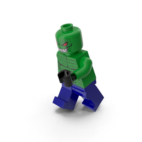 Toys: Lego Killer Croc Running PNG & PSD Images