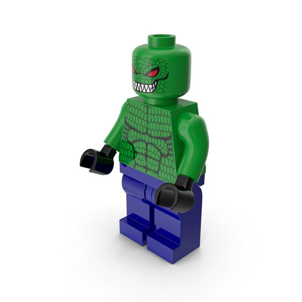 Toys: Lego Killer Croc PNG & PSD Images