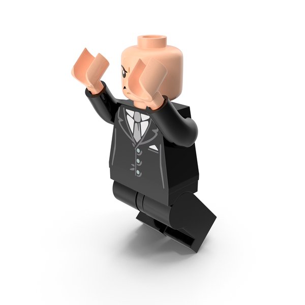People: Lego Lex Luthor Jumping PNG & PSD Images