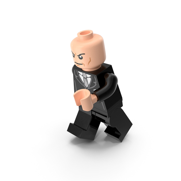 People: Lego Lex Luthor Running PNG & PSD Images