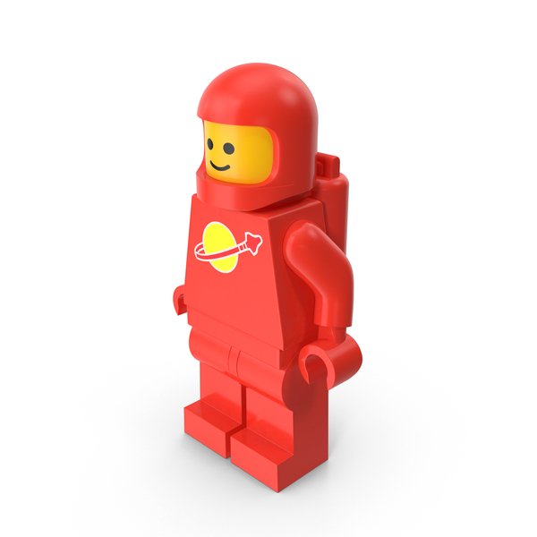 Lego Man Astronaut PNG & PSD Images