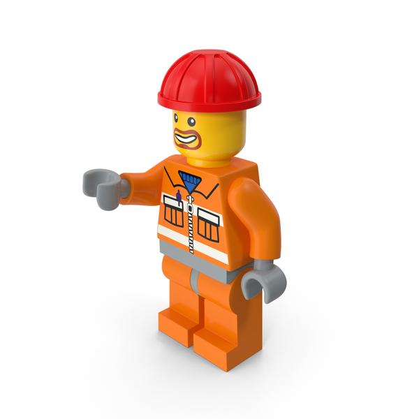 Lego Man Builder PNG & PSD Images