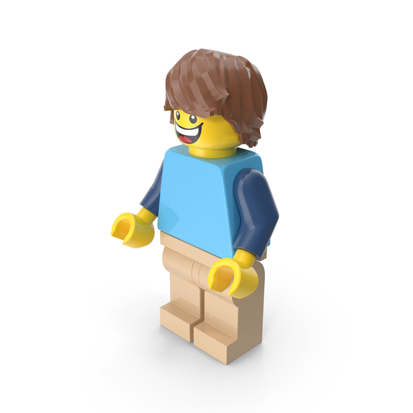 Lego Man Casual PNG & PSD Images