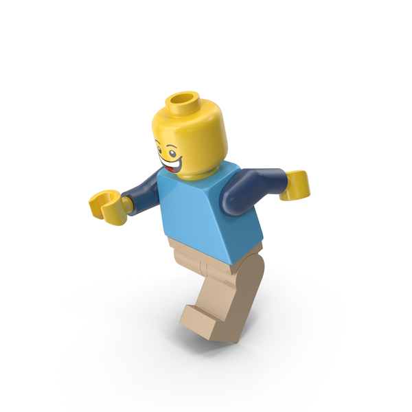 Lego Man Running PNG & PSD Images