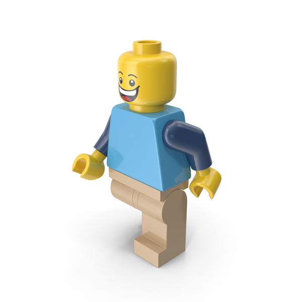 People: Lego Man Walking PNG & PSD Images