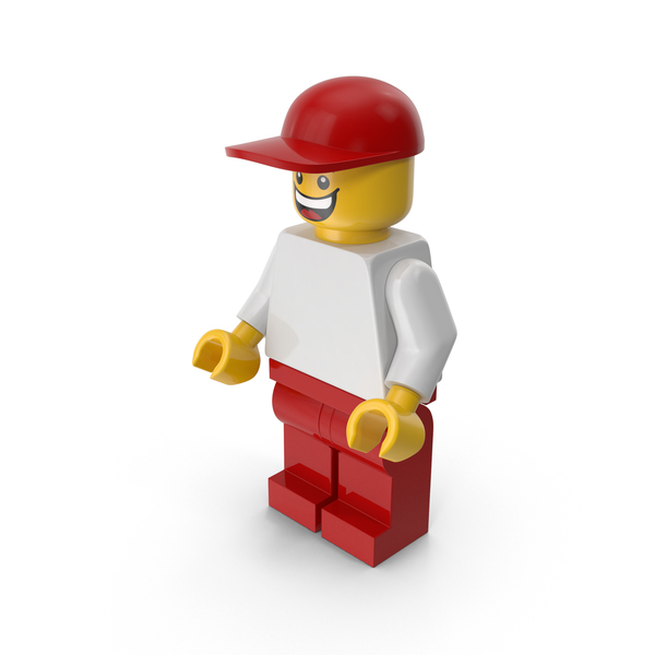 People: Lego Man with Cap PNG & PSD Images