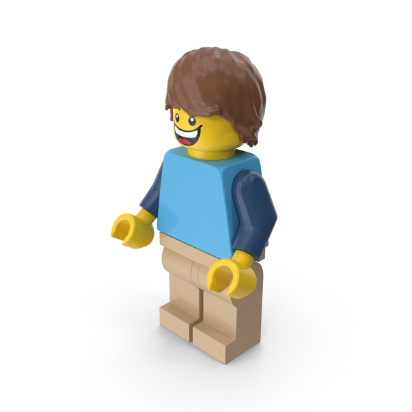 Lego Man With Hair PNG & PSD Images