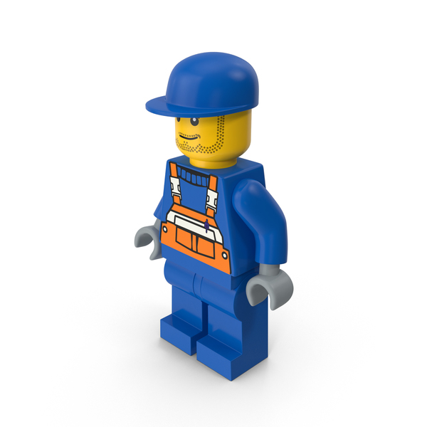 People: Lego Man Worker PNG & PSD Images