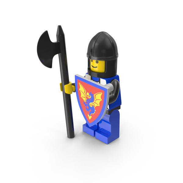Lego Medieval Warrior PNG & PSD Images