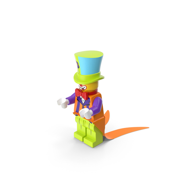 People: Lego Party Clown PNG & PSD Images