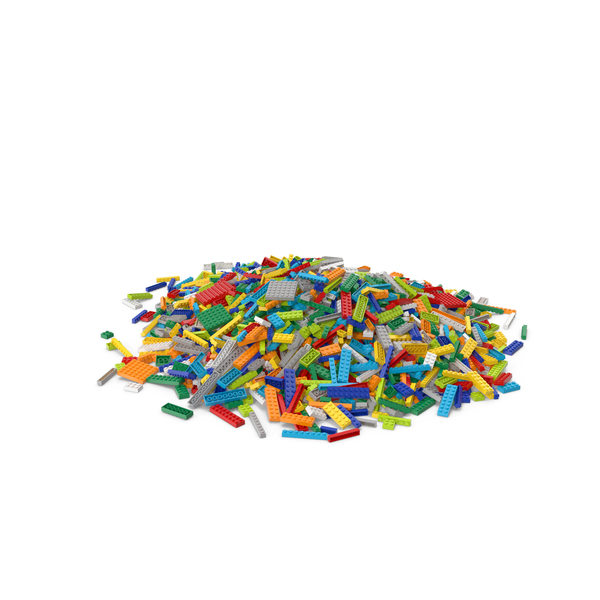 Lego Pile Large PNG & PSD Images