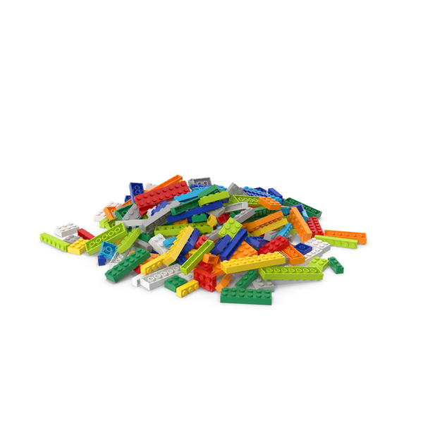 Brick: Lego Pile Small PNG & PSD Images