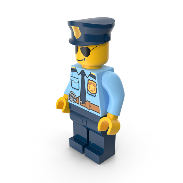 Lego Police Man PNG & PSD Images