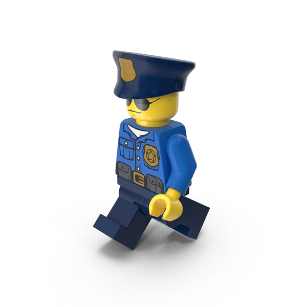 Lego Police Officer PNG & PSD Images