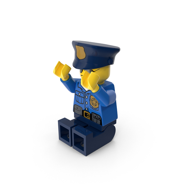 People: Lego Police Officer PNG & PSD Images