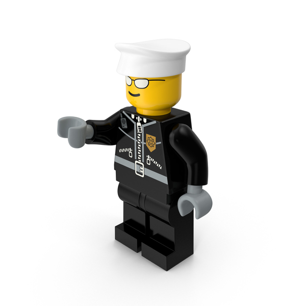 People: Lego Policeman PNG & PSD Images