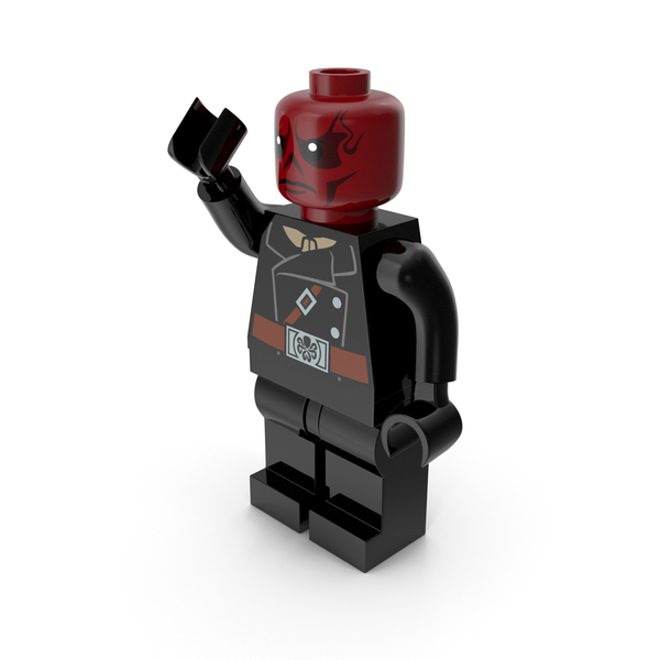 People: Lego Red Skull Pose 1 PNG & PSD Images