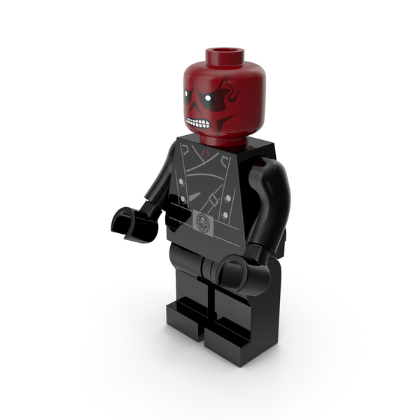Lego Red Skull Version 2 PNG & PSD Images