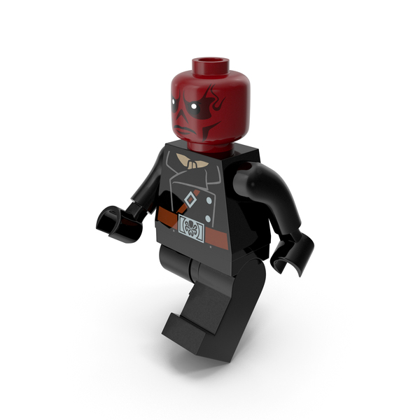 People: Lego Red Skull Walk PNG & PSD Images