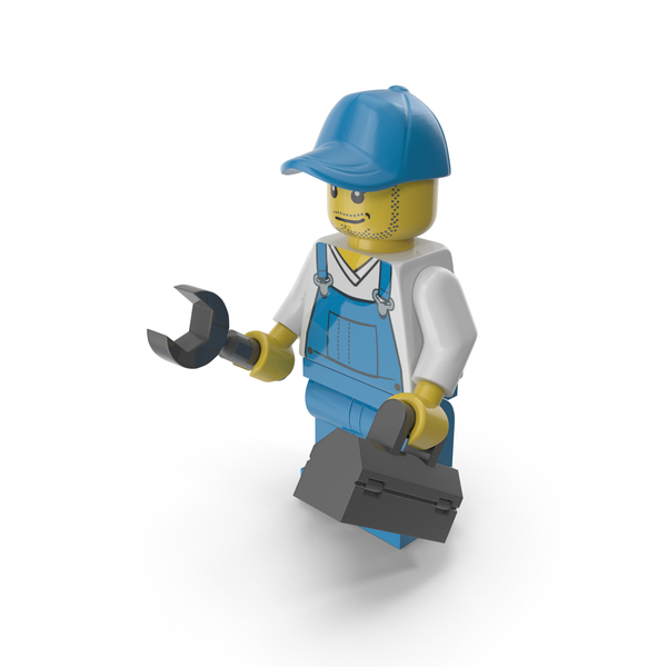 Lego Repairman PNG & PSD Images