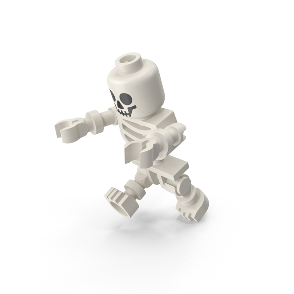 Lego Skeleton Haunting PNG & PSD Images