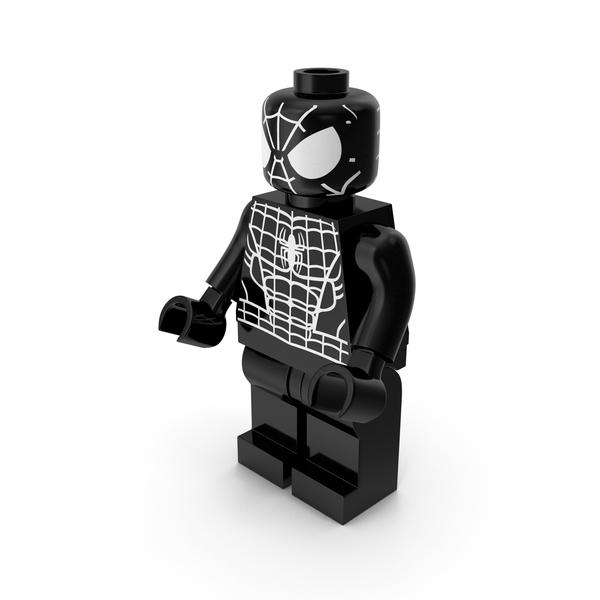 People: Lego Spider-Man Black PNG & PSD Images