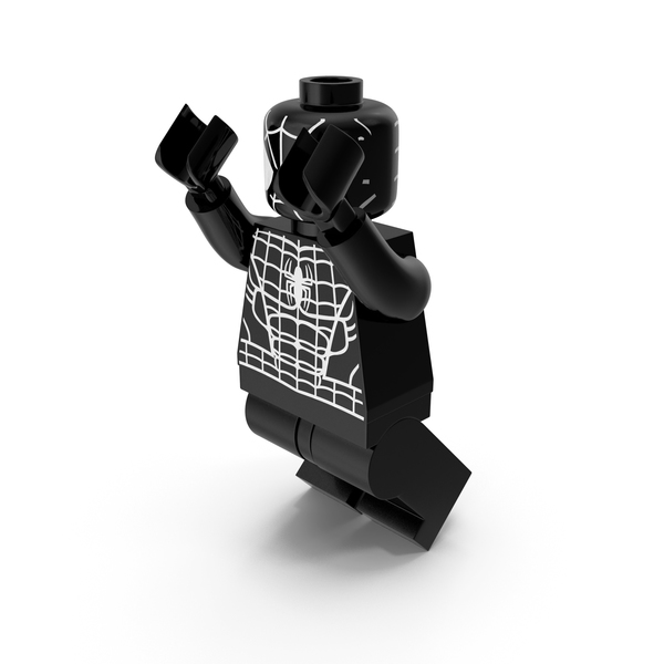 People: Lego Spiderman Black Jumping PNG & PSD Images