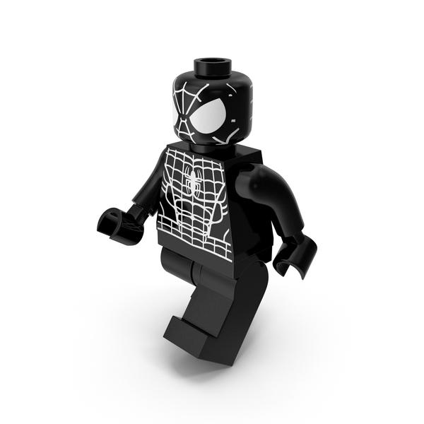 People: Lego Spiderman Black Walk PNG & PSD Images
