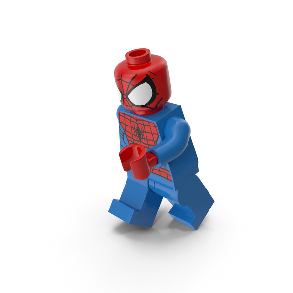 Lego Spiderman Running PNG & PSD Images