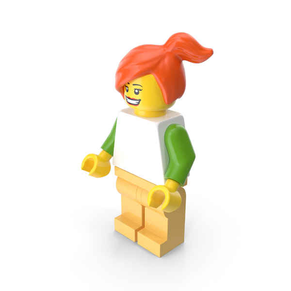 Lego Woman Casual PNG & PSD Images