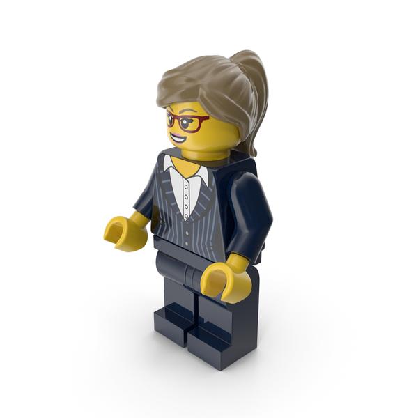 Lego Woman Executive PNG & PSD Images