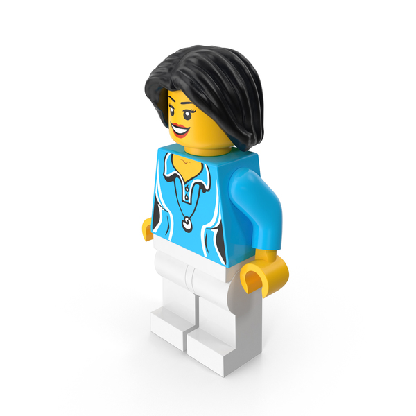Lego Woman Gym Teacher PNG & PSD Images